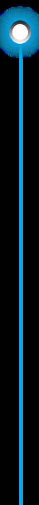 Голубой разделитель с указателем